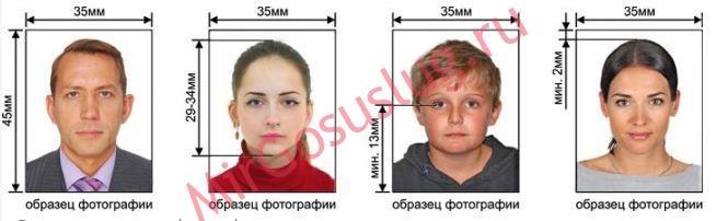 требования к фотографии для загранпаспорта на госуслугах